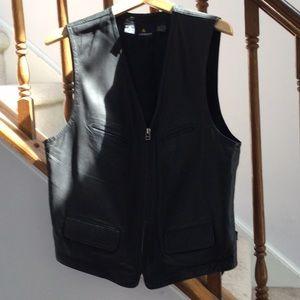 Liz Sport Leather Vest